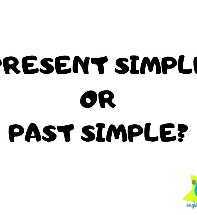 Present Simple or Past Simple? (printables)