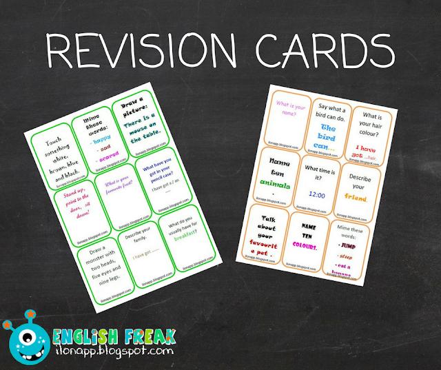 REVISON CARDS CZYLI KARTY POWTÓRKOWE