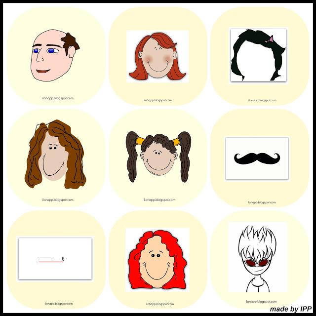 Hair - flashcards, memory, bingo