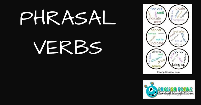 COMMON PHRASAL VERBS SPOTTING GAME printables