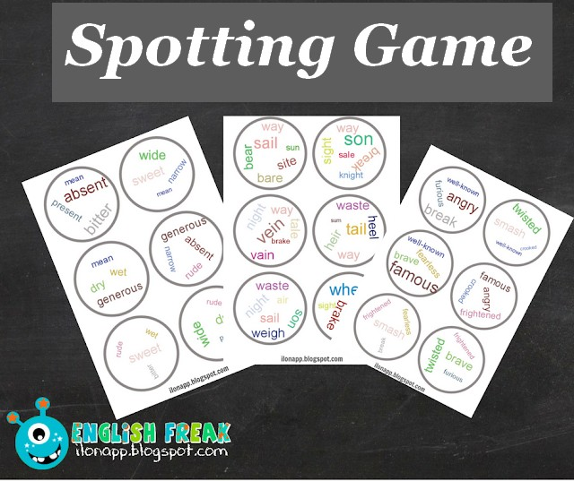 spotting game