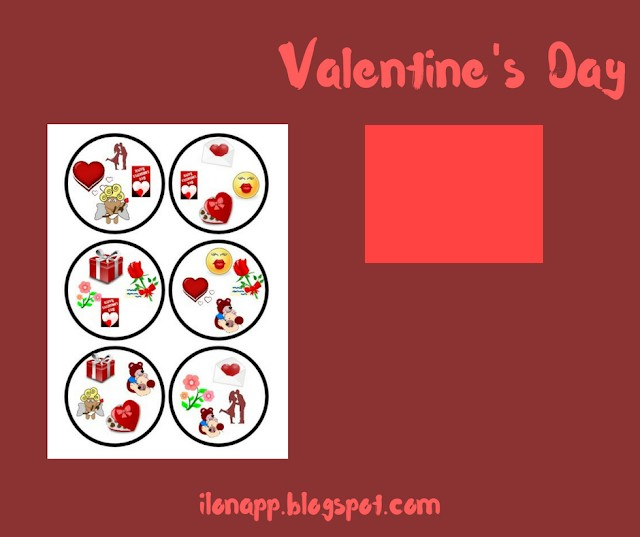 VALENTINE'S DAY SPOTTING GAME PART 3 (printable)