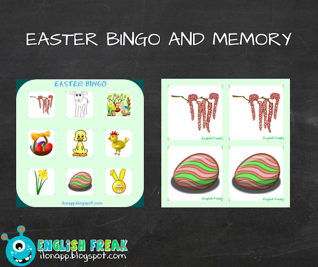 Easter bingo and memory