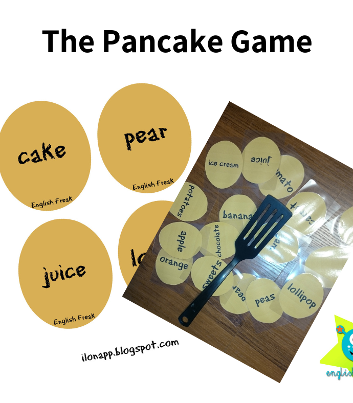 The Pancake Game (printable)