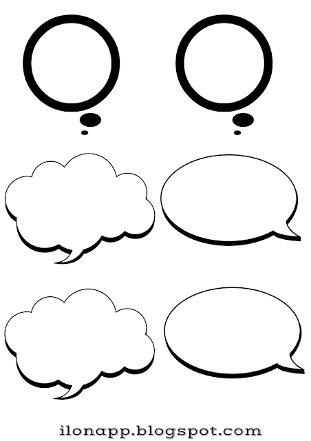 SPEECH BUBBLES / THOUGHT BUBBLES