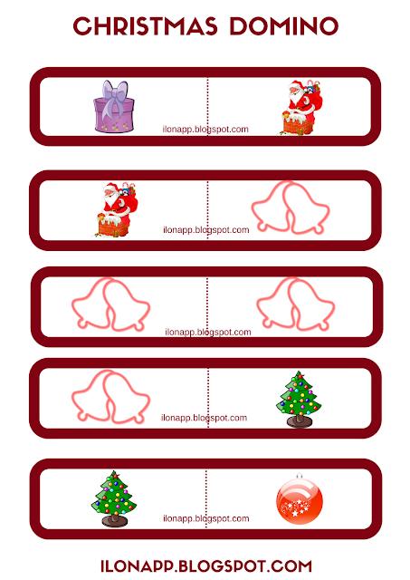 CHRISTMAS DOMINO