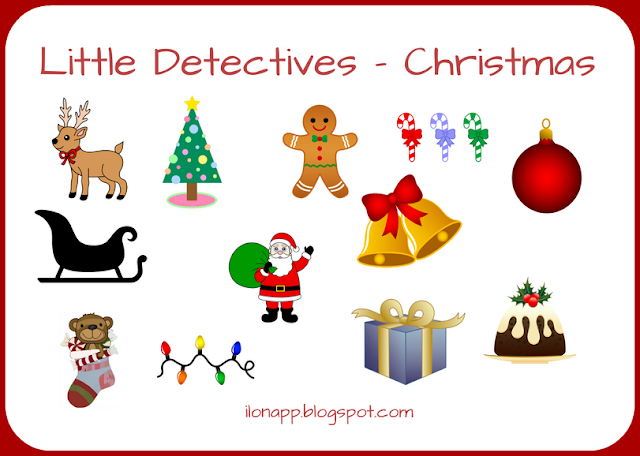 LITTLE DETECTIVES - A VOCABULARY GAME