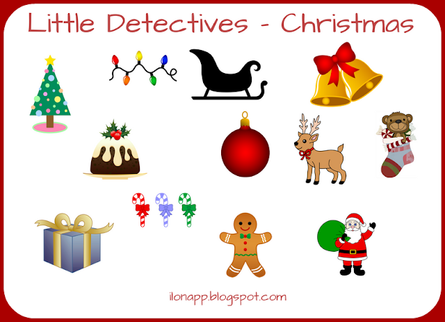 LITTLE DETECTIVES - AVOCABULARY GAME
