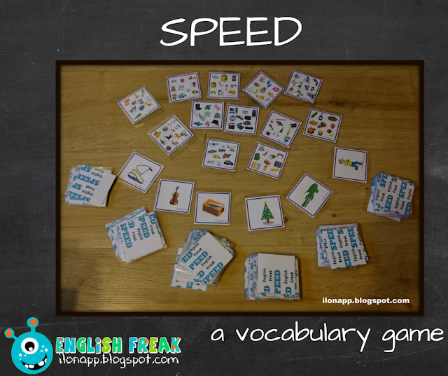 SPEED – A VOCABULARY GAME (PRINTABLE)