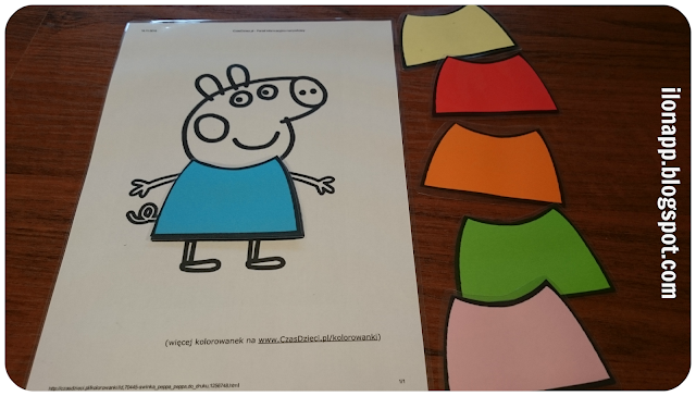 COLOURS WITH PEPPA
