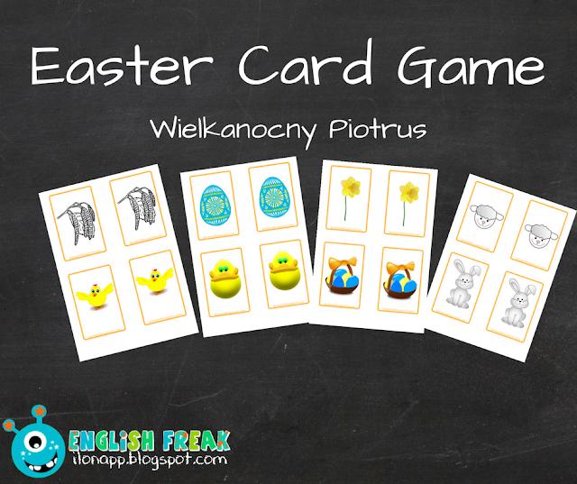 EASTER CARD GAME – WIELKANOCNY PIOTRUŚ (PRINTABLE)
