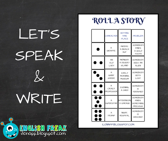 LET'S SPEAK AND WRITE – ROLL A STORY (PART 2)