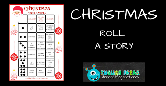 CHRISTMAS – ROLL A STORY (PRINTABLE)