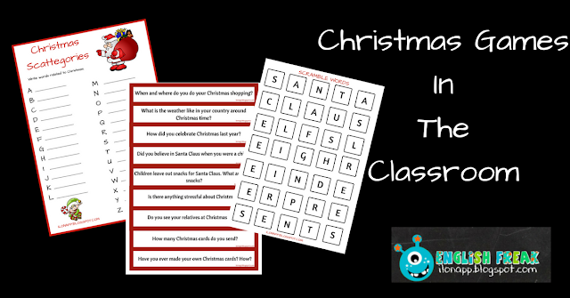 CHRISTMAS GAMES IN THE CLASSROOM