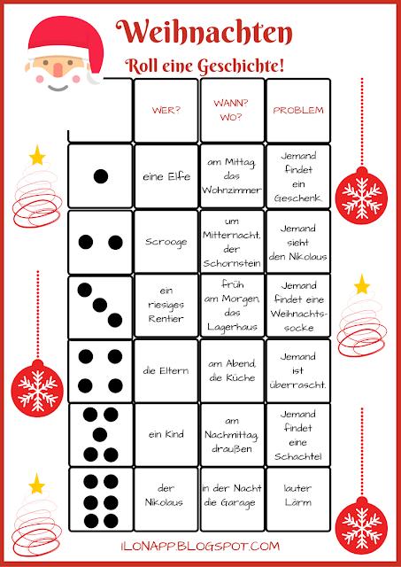 Weihnachten Roll Eine Geschichte