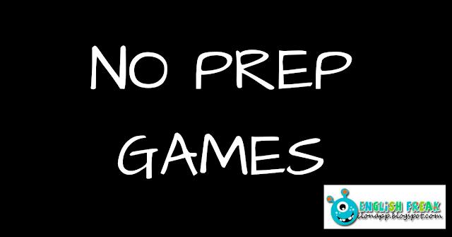 NO PREP GAMES, CZYLI GRY BEZPRZYGOTOWANIA