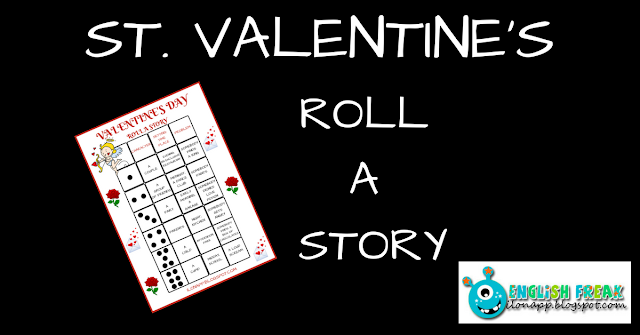 ST. VALENTINE'S DAY – ROLL A STORY (PRINTABLE)