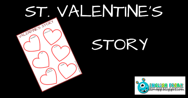 ST. VALENTINE'S DAY STORY (PRINTABLE)