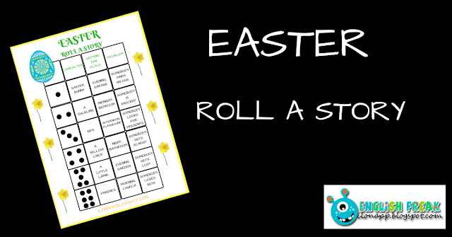 EASTER ROLL A STORY (PRINTABLE)