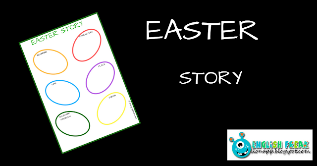 EASTER STORY – A PRINTABLE WORKSHEET