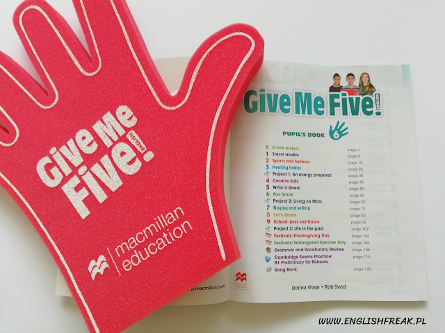 Give Me five - nowy kurs Macmillana