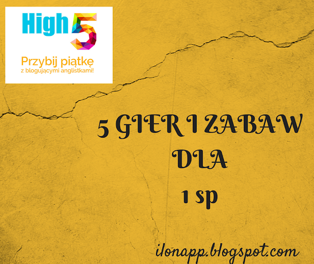 TOP 5 GIER I ZABAW DLA 6 i 7 – LATKÓW – TOP 5 GAMES FOR 6/7 YEAR OLDS