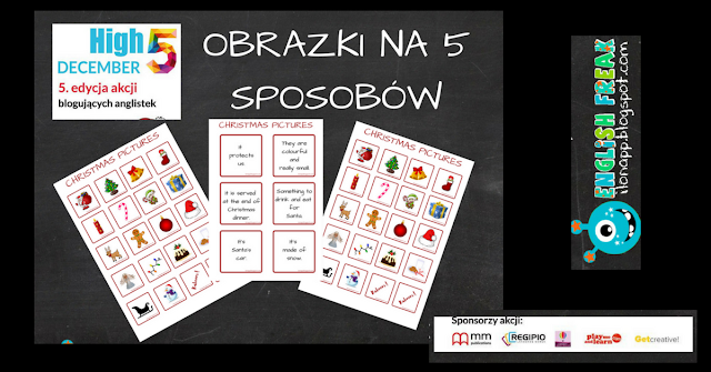 HIGH FIVE, DECEMBER! – OBRAZKI NA 5 SPOSOBÓW