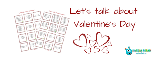 LET'S TALK ABOUT VALENTINE'S - QUESTION CARDS