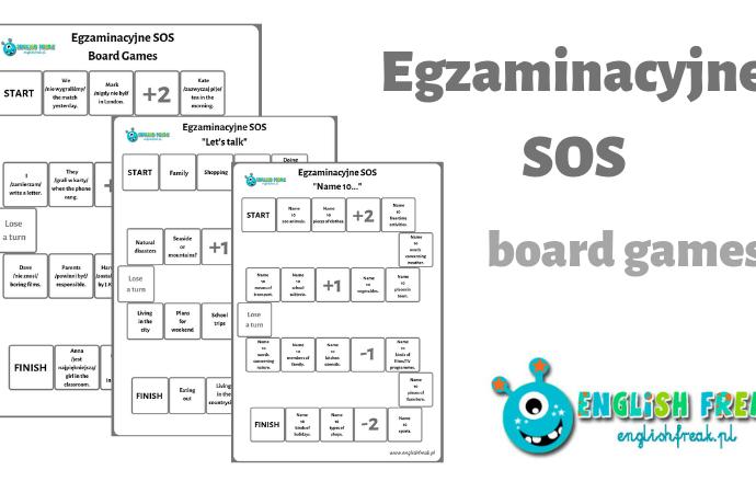Egzaminacyjne SOS – board games