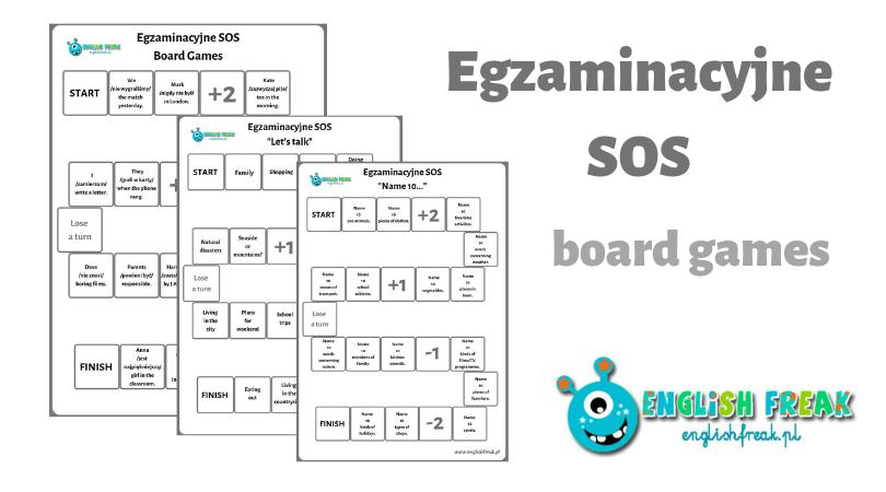 Egzaminacyjne SOS board games