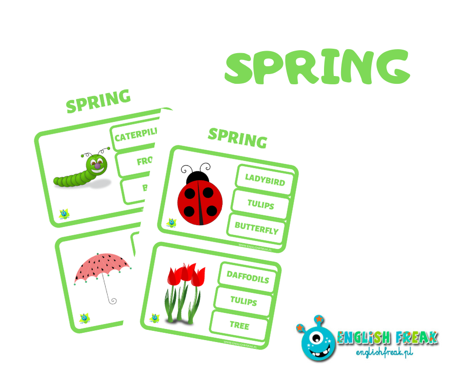 Spring Cards Activities