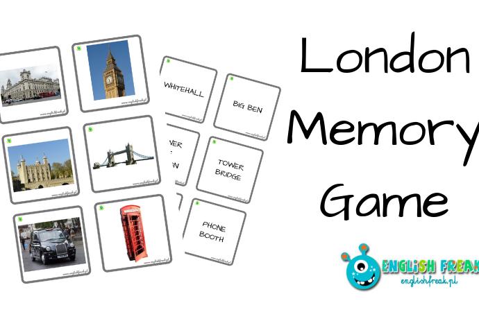 Wycieczka poLondynie zLondon Memory Game