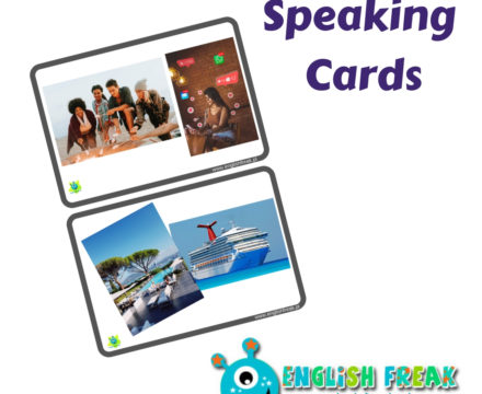 Speaking cards  – let's compare and discuss…