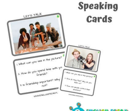 Exam Speaking Cards – let's discuss!