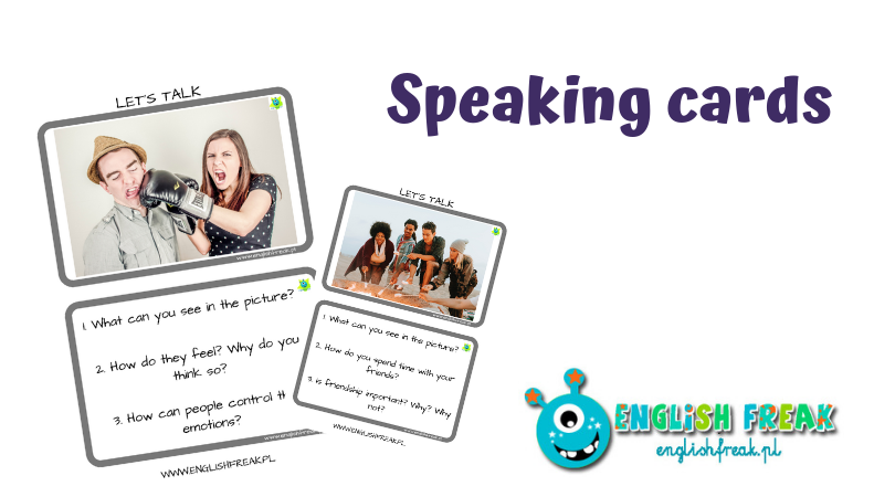 exam speaking cards