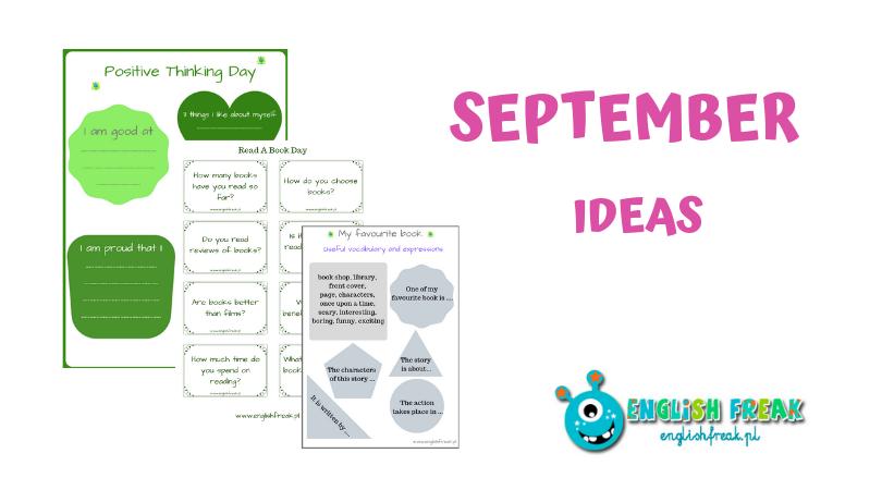 september ideas wrześniowe zajecia