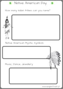 Native American Day - wrześniowe zajęcia