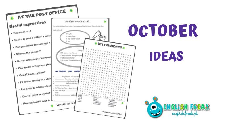 October Ideas
