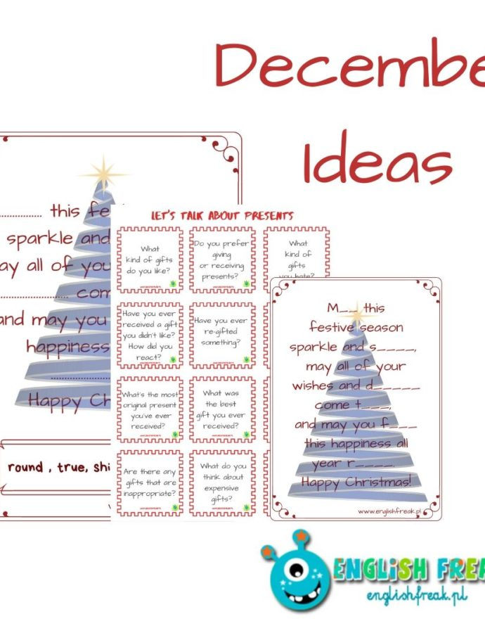 December Ideas for Lessons