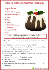 How to make a Christmas pudding