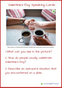 Valentine's Day Speaking Cards
