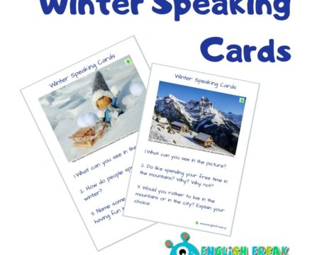 Winter Speaking Cards – porozmawiajmy!
