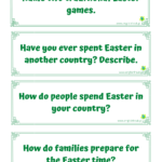 Easter Speaking Cards