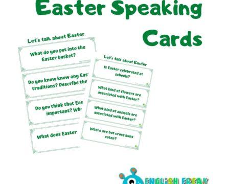 Easter Speaking Cards – karty konwersacyjne