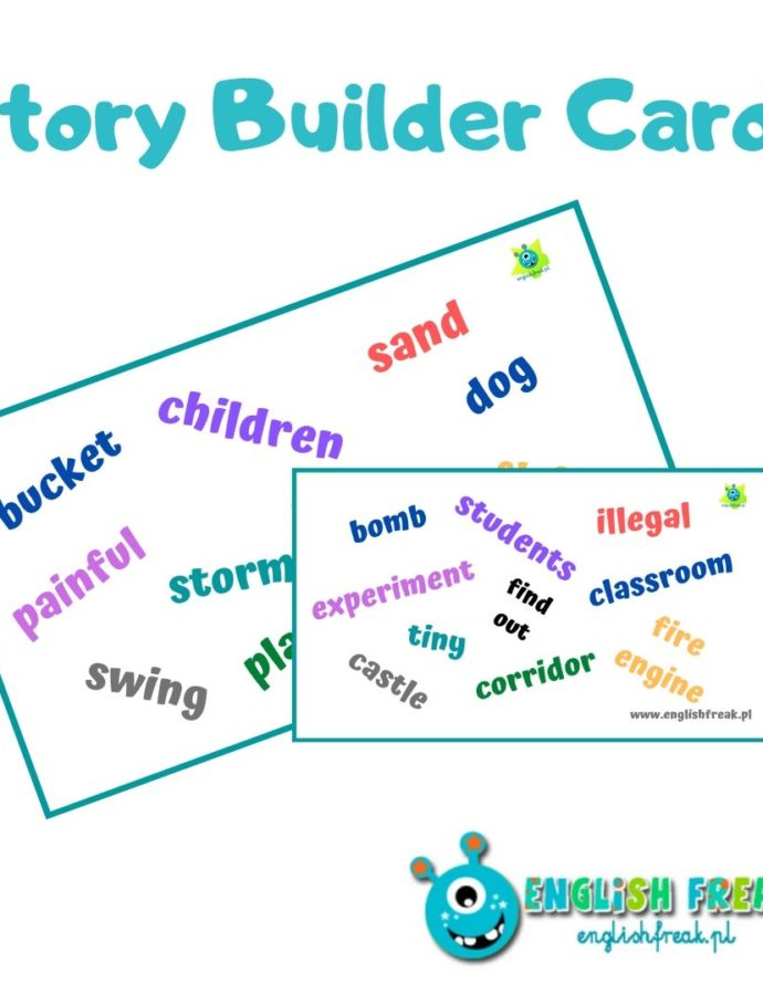 Story Builder Cards – let's speak and write