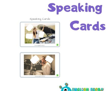 What do they think? – speaking cards with speech bubbles