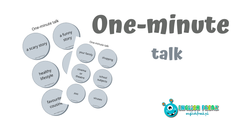 One-minute talk