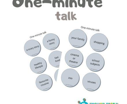 One-minute talk wdrugiej odsłonie