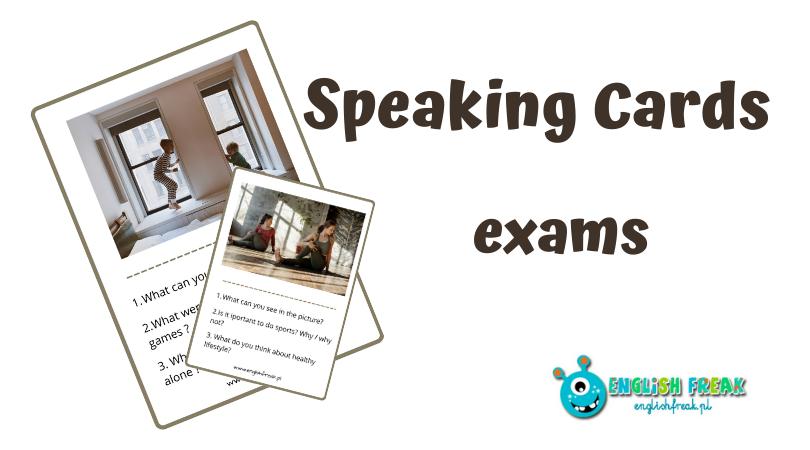 Speaking Cards - speaking exams